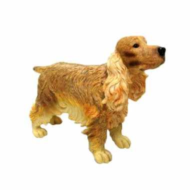 Dierenbeeld cocker spaniel hond 15 cm