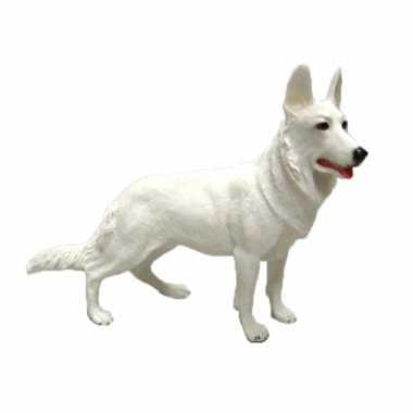 Dierenbeeld duitse herder hond 15 cm