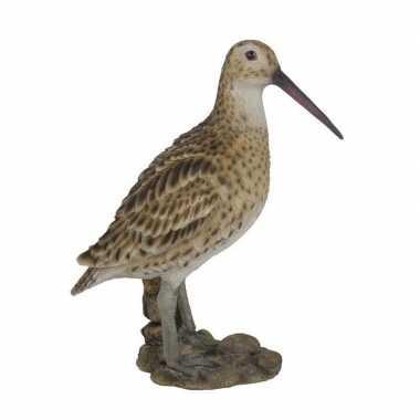 Dierenbeeld grutto vogel 27 cm